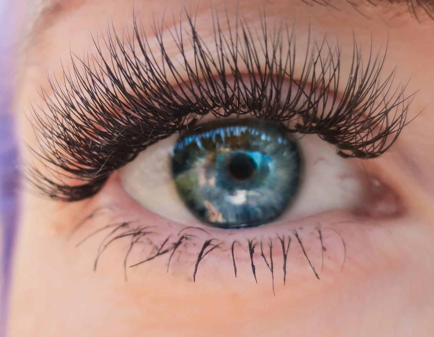 Ögonfransförlängning, fördel 1