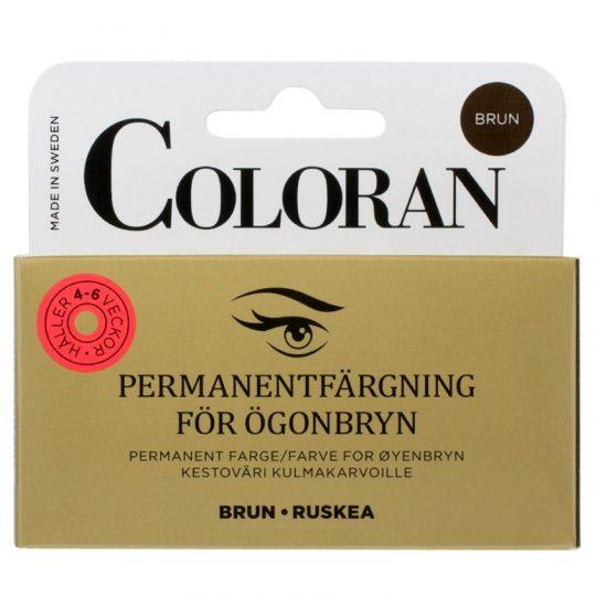 Coloran Ögonbrynsfärg Brun