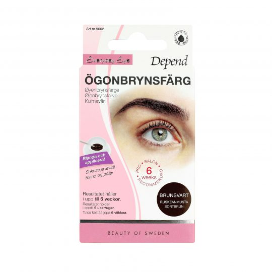 Depend Everyday Eye Ögonbrynsfärg Brunsvart