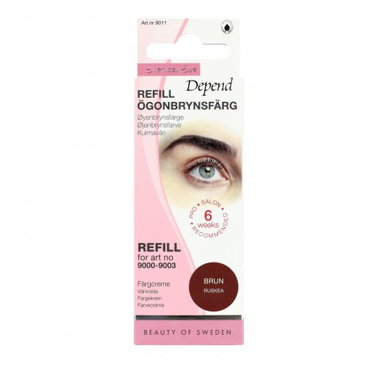 Depend Everyday Eye Ögonbrynsfärg Refill Brun