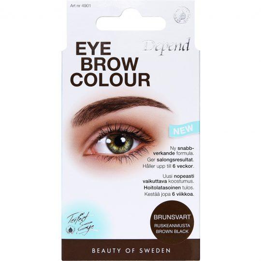 Depend Perfect Eye Eyebrow Colour Brown Black