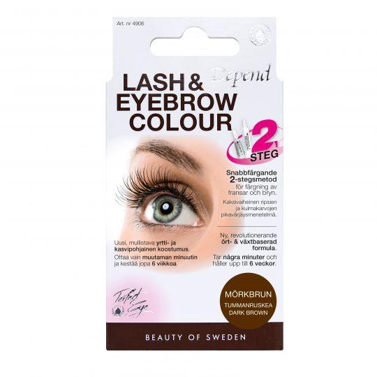 Depend Perfect Eye Lash and Eyebrow Colour Dark Brown