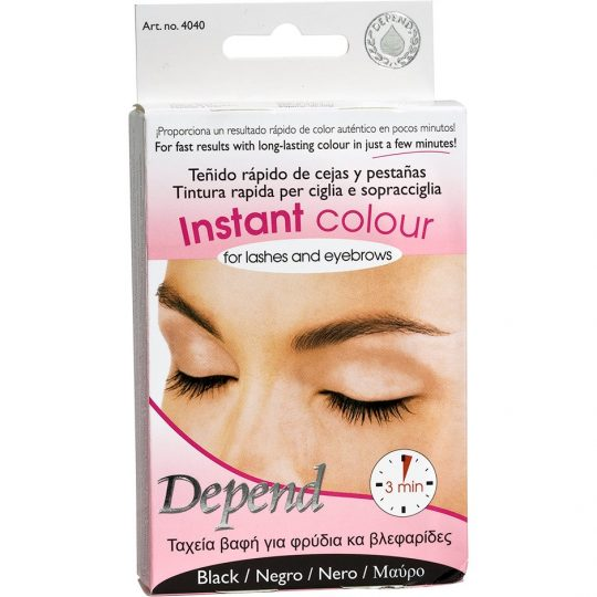Depend Instant Colour For Lashes And Eyebrows, Depend Ögonbrynsfärg & Trimmers