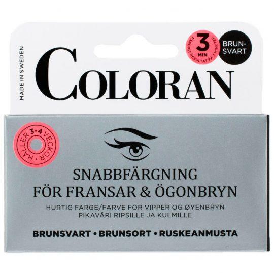 Snabbfärgning För Ögonfransar & Ögonbryn, Coloran Ögonbrynsfärg & Trimmers