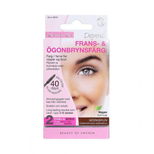 Depend Everyday Eye Frans & Ögonbrynsfärg Mörkbrun