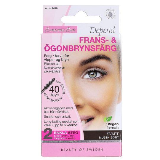 Depend Everyday Eye Frans & Ögonbrynsfärg Svart